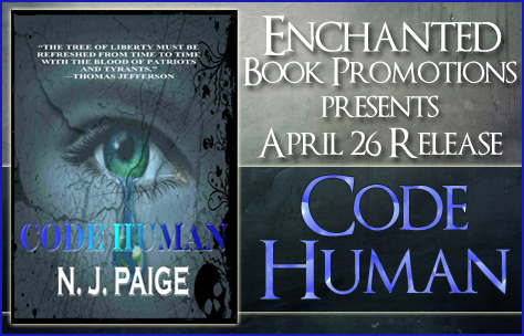 #ReleaseDay Post: Code Human by N. J. Paige #EnchantedBooks #YA #ScienceFiction @nj_paige